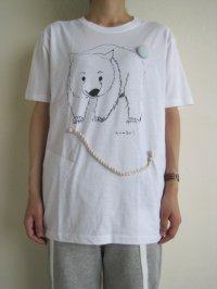 "AAbab      ""Wombat""Tシャツ・ホワイト"