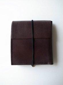 他の写真1: ebagos  エバゴス  ホースレザー二ツ折財布 ブラック