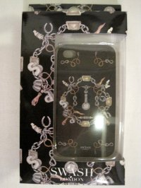 kanvas products       x SWASH LONDON JEWEL BLACK iPHONE CASES