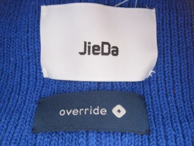 画像3: Jieda ジエダ     70%OFF × override HAIRBAND USA・ブルー