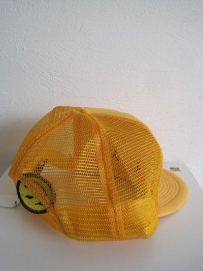 画像3: gilet ジレ       30%OFF SMAILE CAP ベースボールキャップ・イエロー