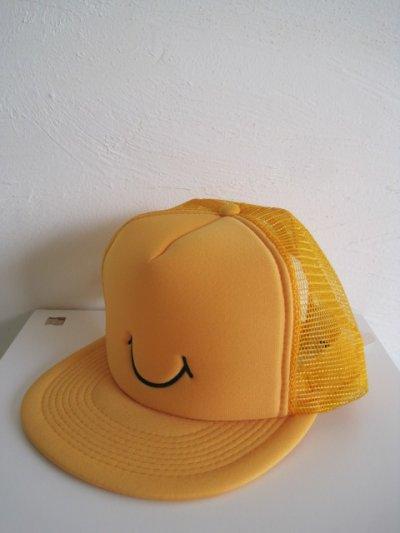 画像1: gilet ジレ       30%OFF SMAILE CAP ベースボールキャップ・イエロー