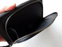 他の写真2: ebagos  エバゴス  ガラスレザー口金ファスナー財布 ブラック