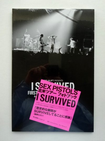 画像2: PEEL&LIFT        I SURVIVED FIRST AMERICAN TOUR 1978Roberta Bayley PhotoBook 2015