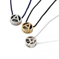 PHINGERIN       フィンガリン TINY CIRCLE A NECKLACE SILVER