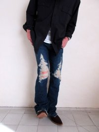 "seven by seven       30%OFF 7×7セブンバイセブン ""REWORK DENIM PANTS""・A"