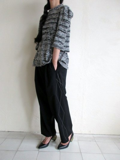 画像1: anrealage   50%OFF NOISE SQUARE PILE TOPS
