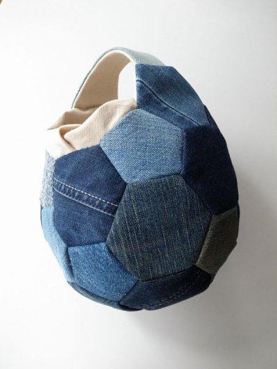 画像1: Ore       オー Soccer Ball Bagサッカーボールバッグ・デニム/S