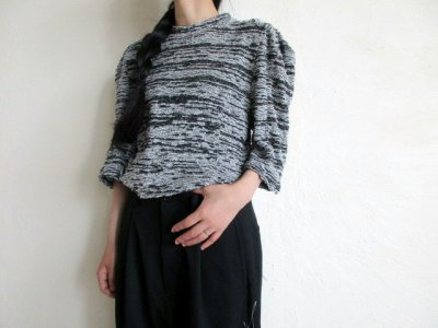 画像2: anrealage   50%OFF NOISE SQUARE PILE TOPS