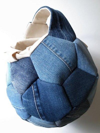 画像1: Ore       オー Soccer Ball Bagサッカーボールバッグ・デニム/L