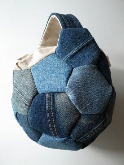 画像1: Ore       オー Soccer Ball Bagサッカーボールバッグ・デニム/M