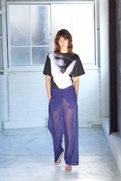 画像1: TOKIKO MURAKAMI       トキコ ムラカミ プリントTシャツ・print4