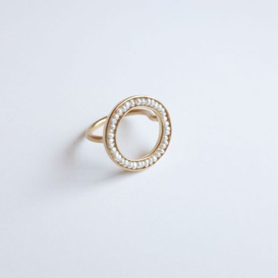 画像1: revie objects       ●pearl ring
