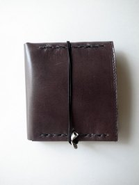 ebagos  エバゴス  ホースレザー二ツ折財布 ブラック