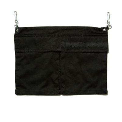 画像1: PEEL&LIFT       pocket apron エプロンポーチ・black