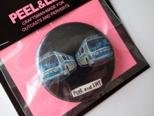 他の写真3: PEEL&LIFT       bus badge 57mm バッチ・ブラック
