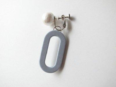 画像4: ilocami       イロカミ CLIP EARRING・ブルージーン