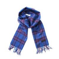 PEEL&LIFT       wool scarf チェック柄マフラー・elliot tartan