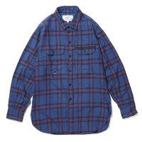 PEEL&LIFT        tartan flannel work shirt エリオットタータンネルシャツ