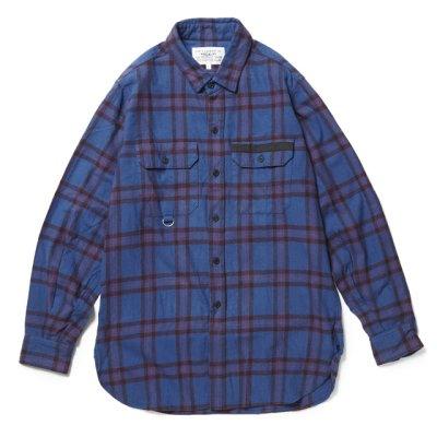 画像1: PEEL&LIFT        tartan flannel work shirt エリオットタータンネルシャツ