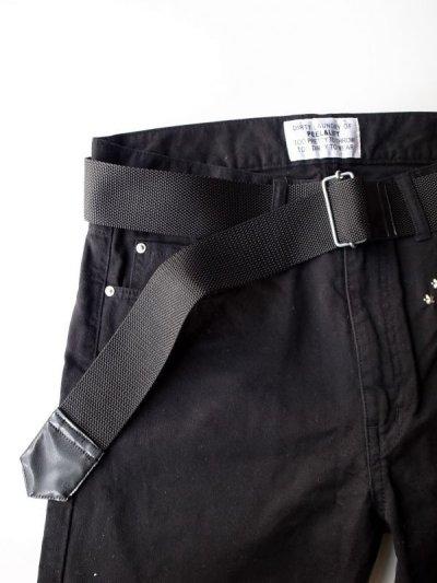画像5: PEEL&LIFT        nylon belt ロングベルト・ブラック