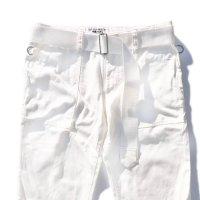 PEEL&LIFT        nylon belt ロングベルト・ホワイト