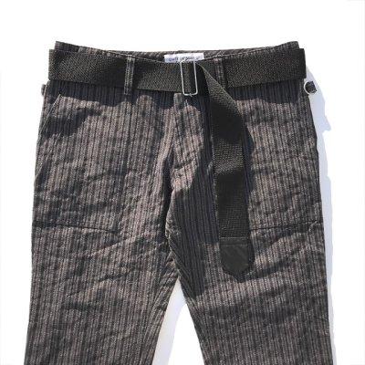 画像1: PEEL&LIFT        nylon belt ロングベルト・ブラック