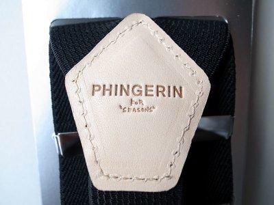 画像2: PHINGERIN       フィンガリン SUSPENDERS・ブラック
