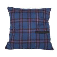 PEEL&LIFT        square pillow with insert  クッション・ブルーエリオットタータン