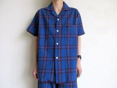 画像2: PEEL&LIFT        tartan open collar shirt エリオットタータンオープンカラーシャツ