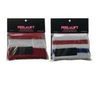 PEEL&LIFT        towelling wristband リストバンド・レッド×ホワイト