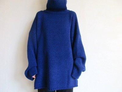 """画像2: sulvam       サルバム  """"Big high neck knit""""ビックハイネックニット"""