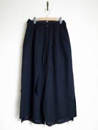 "sulvam       サルバム  ""Layerd skirt PT""レイヤードスカートパンツ"