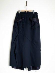 """他の写真1: sulvam       サルバム  """"Layerd skirt PT""""レイヤードスカートパンツ"""