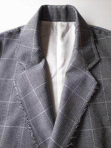 """他の写真2: sulvam       サルバム """"Over coat""""グレンチェックオーバーサイズコート"""