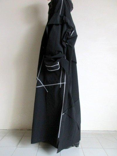"""画像2: sulvam       サルバム  """"Over rain coat""""オーバーサイズレインコート"""