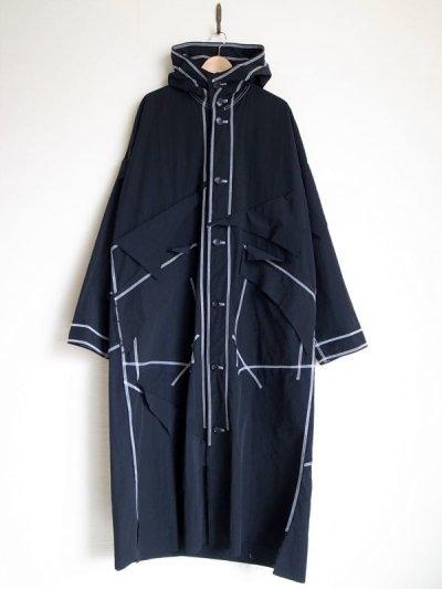 """画像1: sulvam       サルバム  """"Over rain coat""""オーバーサイズレインコート"""