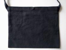 他の写真2: PEEL&LIFT        PVC pocket canvas sacoche サコッシュ・ブラック×クリアー
