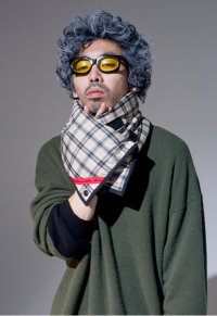PHINGERIN       フィンガリン  SQUARE WARMER PLAID