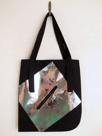 画像1: tactor       flat big bag・black