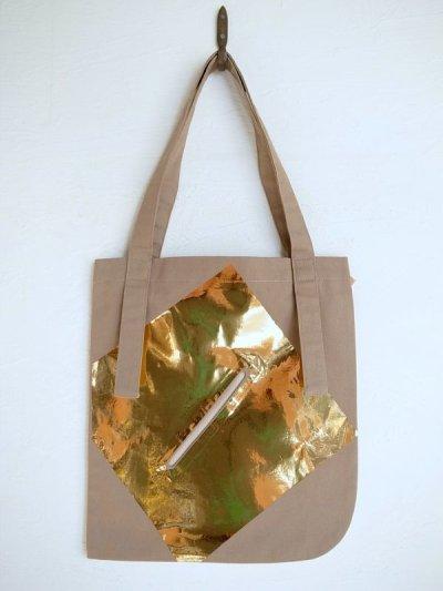 画像1: tactor       flat big bag・beige