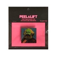 PEEL&LIFT        marx badge マルクスバッチ・ブルー