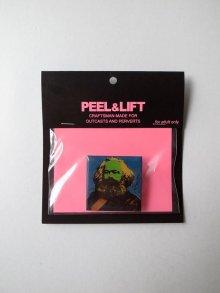 他の写真1: PEEL&LIFT        marx badge マルクスバッチ・ブルー