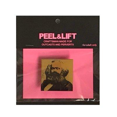 画像1: PEEL&LIFT        marx badge マルクスバッチ・イエロー
