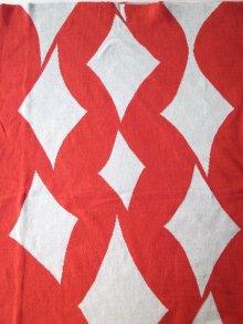 """他の写真3: sulvam       サルバム  """"school argyle knit""""アーガイルスリットニット・レッド×グレー"""