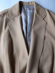 """他の写真1: sulvam       サルバム  """"over coat""""オーバーサイズガウンコート・ベージュ"""