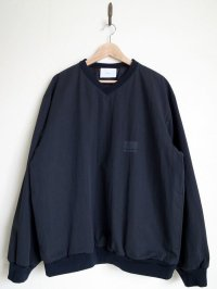 stein       OVER SLEEVE V NECK PO・BLACK