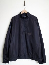 stein       SHIFTED HALF ZIP TOP・BLACK