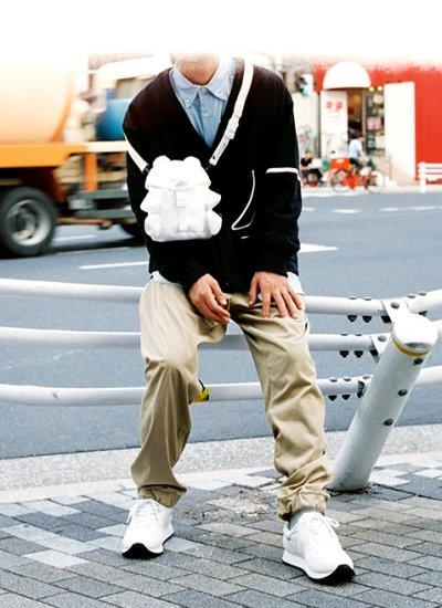 画像2: PHINGERIN       フィンガリン CUMALICE POUCH・ホワイト