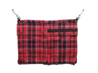 PEEL&LIFT       pocket apron エプロンポーチ・red tartan